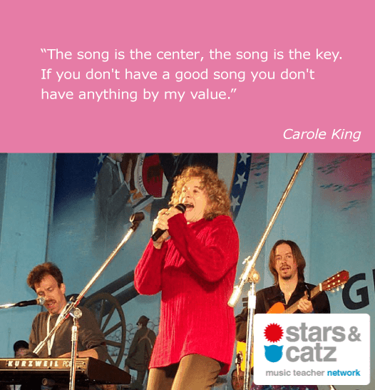 Carole King Music Quote