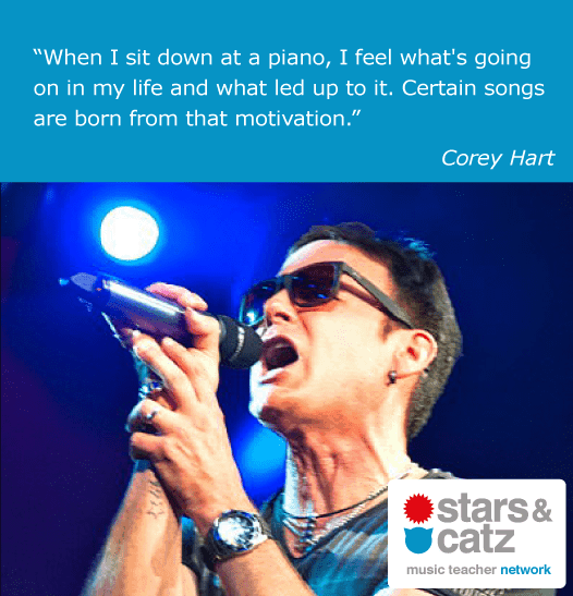 Corey Hart Music Quote
