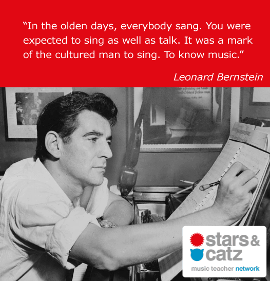 Leonard Bernstein Music Quote.