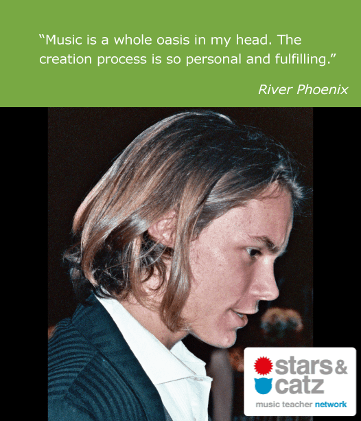 River Phoenix Music Quote