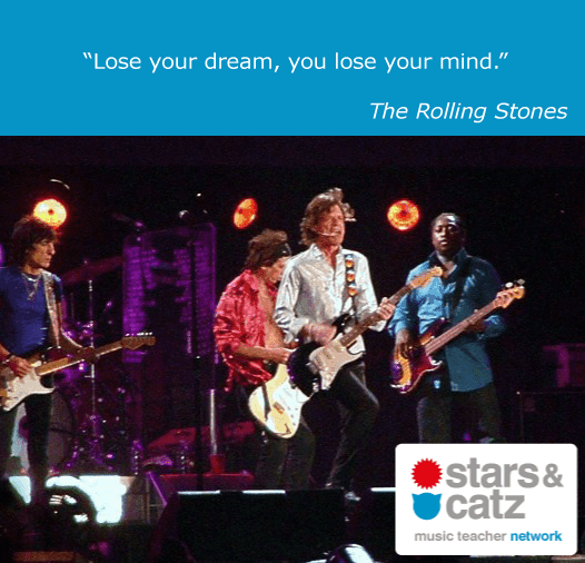 The Rolling Stones Music Quote